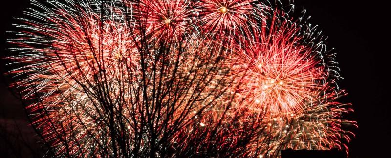 Feuerwerk über Travemünde 4